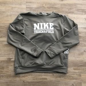 Women's Nike track and field hoodie